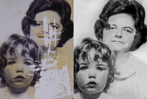 Photograph Restoration and Repair by Photo Fixer 05 1