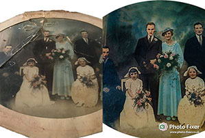 Photograph Restoration and Repair by Photo Fixer 01