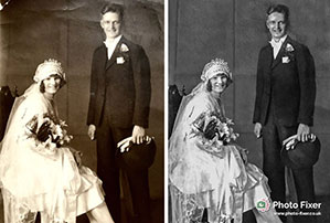 Photograph Restoration and Repair by Photo Fixer 03