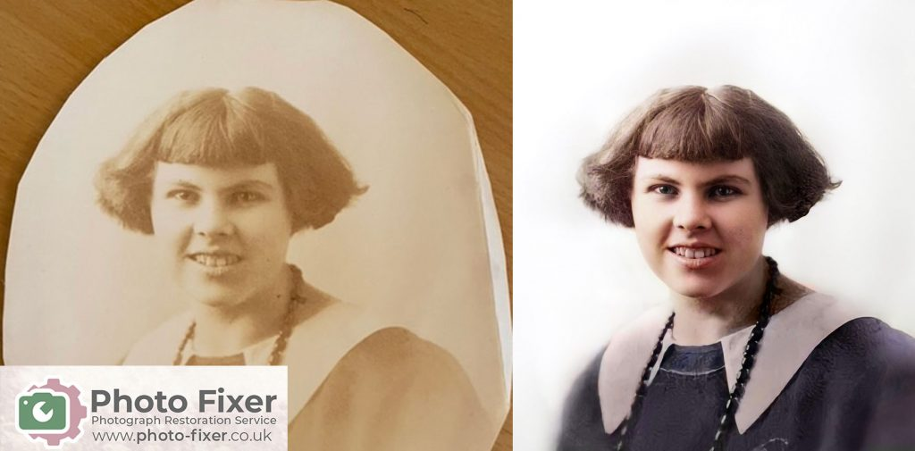 Old Photographs Brought Back to Life