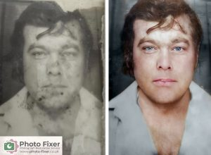 Black and White Photos Repaired and Coloured